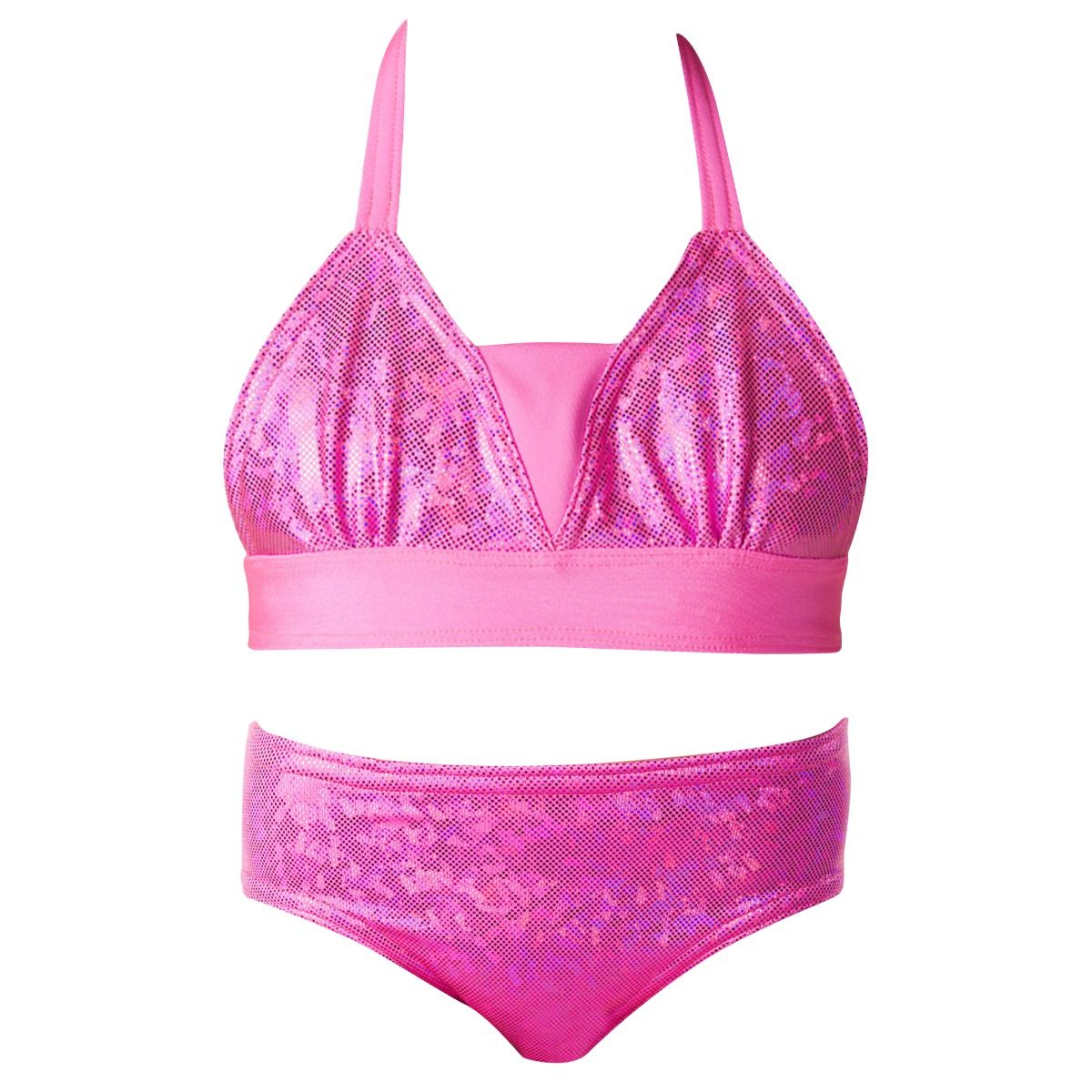 0a8a1f7389e Sparkly Mermaid Bikini Swimwear