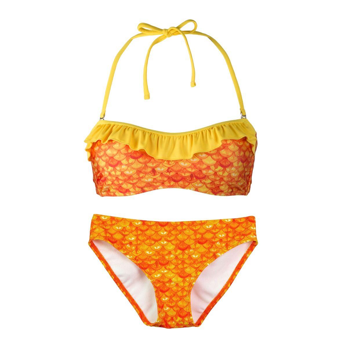 2260879de144e Tropical Sunrise Bandeau Bikini Set. Tap to expand