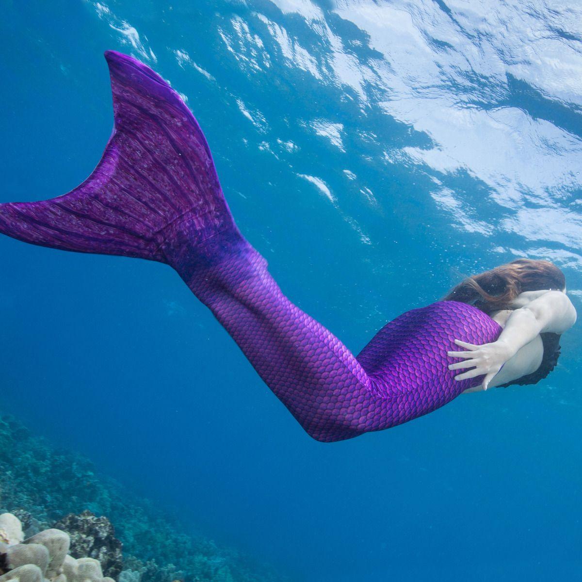 Magenta Mermaid Tail for Kids & Adults | Fin Fun Mermaid  Magenta Mermaid...