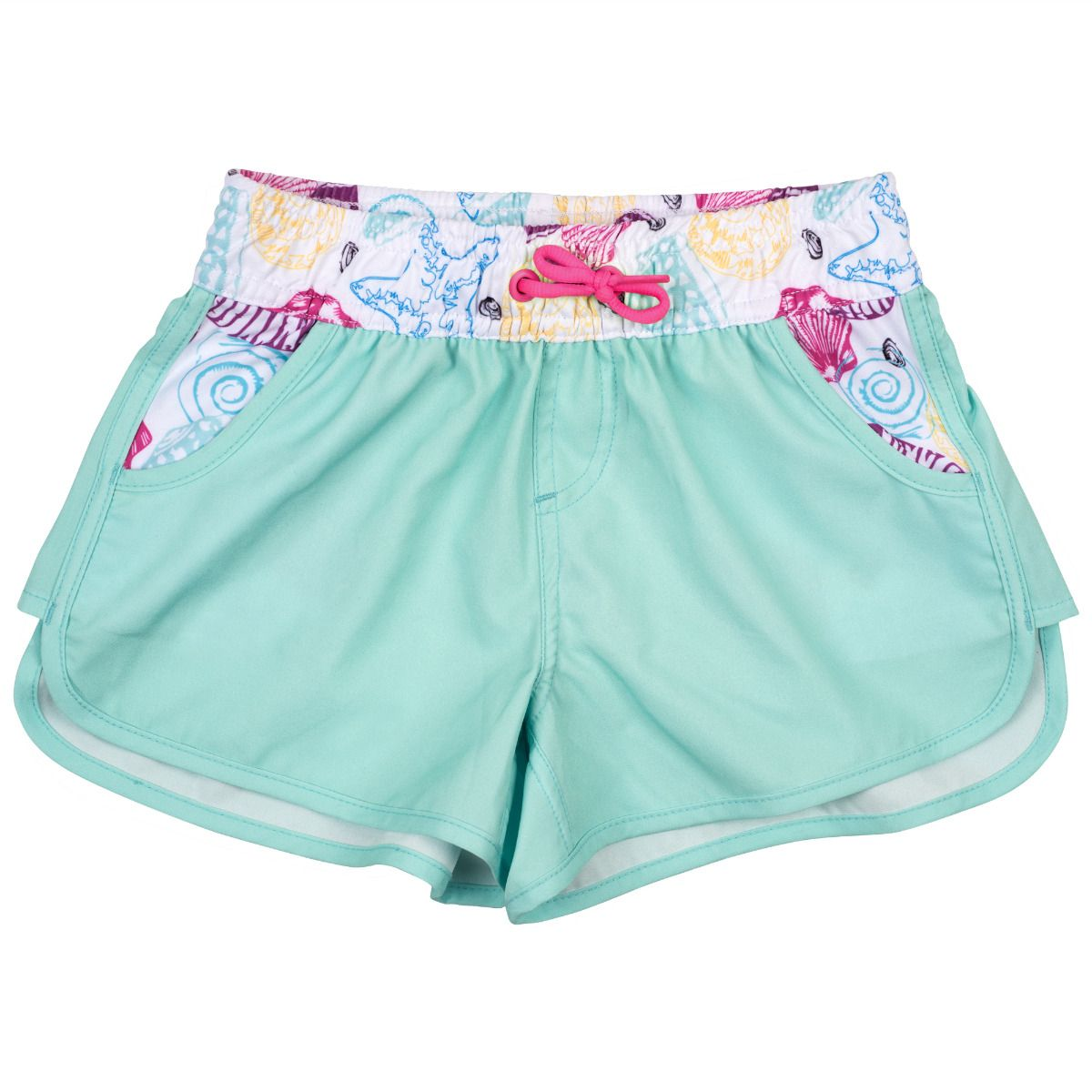 33c04948bd Girls' Swim Shorts in Mint. Tap to expand
