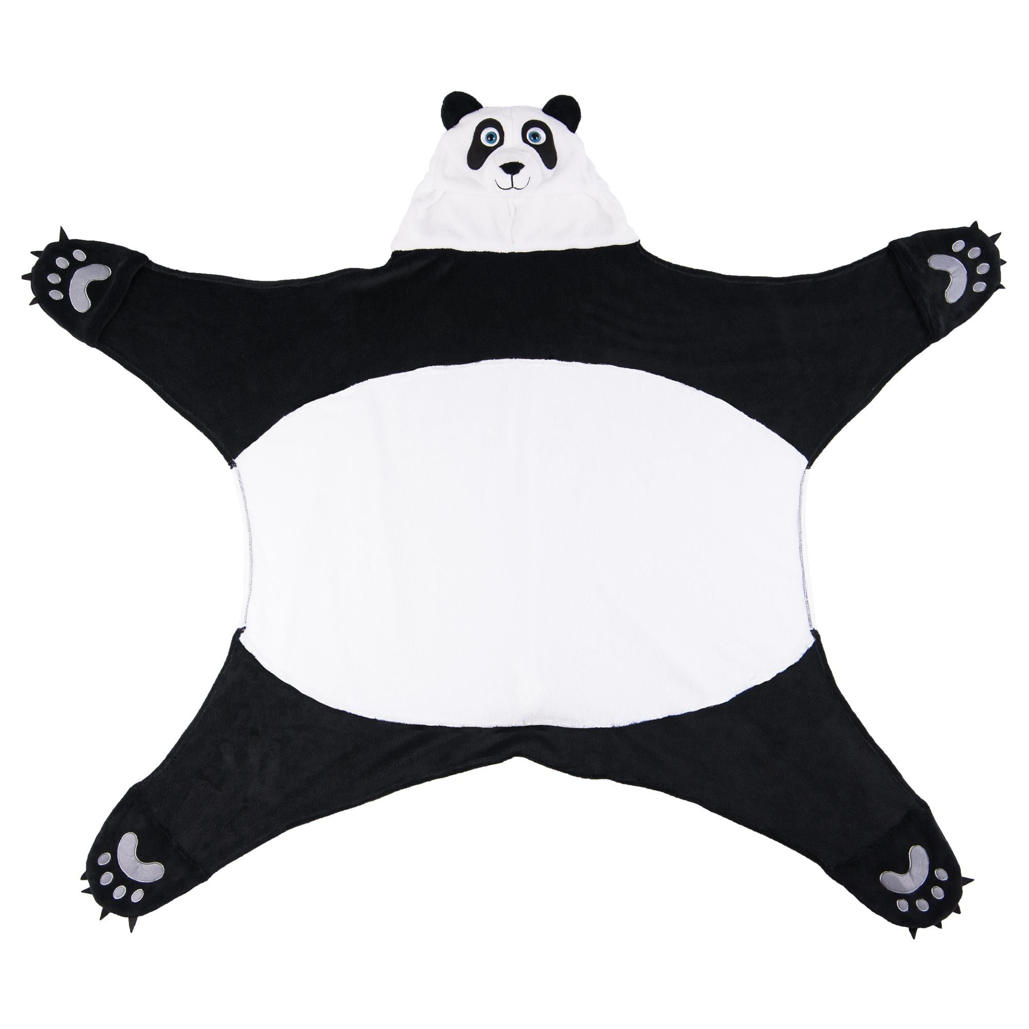 Wild Things Panda Bear Blanket