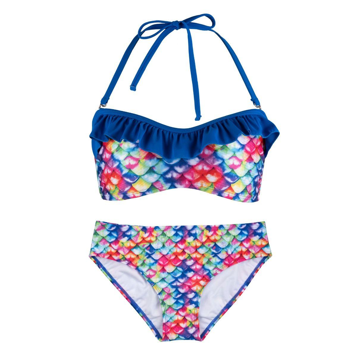 1a00a0973 Rainbow Reef Bandeau Bikini Set. Tap to expand