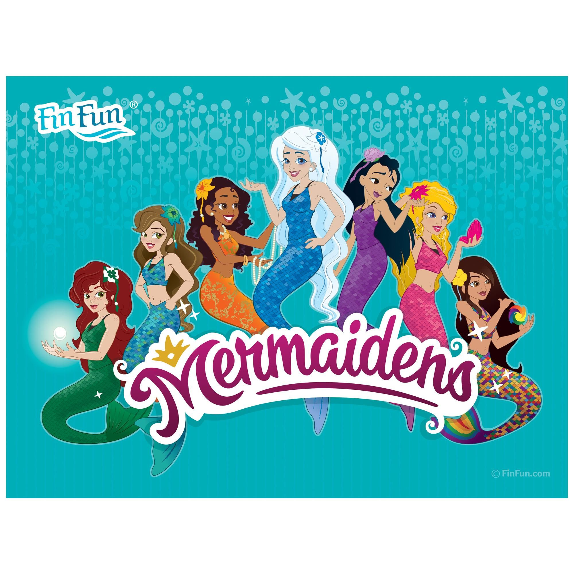 The 7 Royal Mermaidens Poster