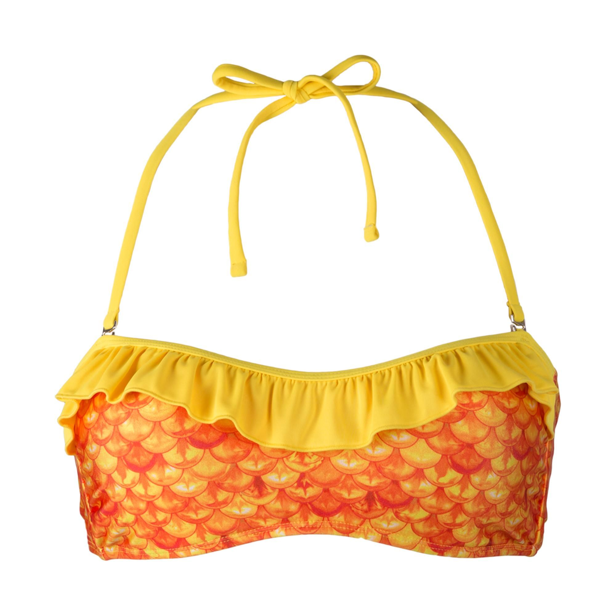 38d3cdc359c50 Tropical Sunrise Bandeau Bikini Top. Tap to expand