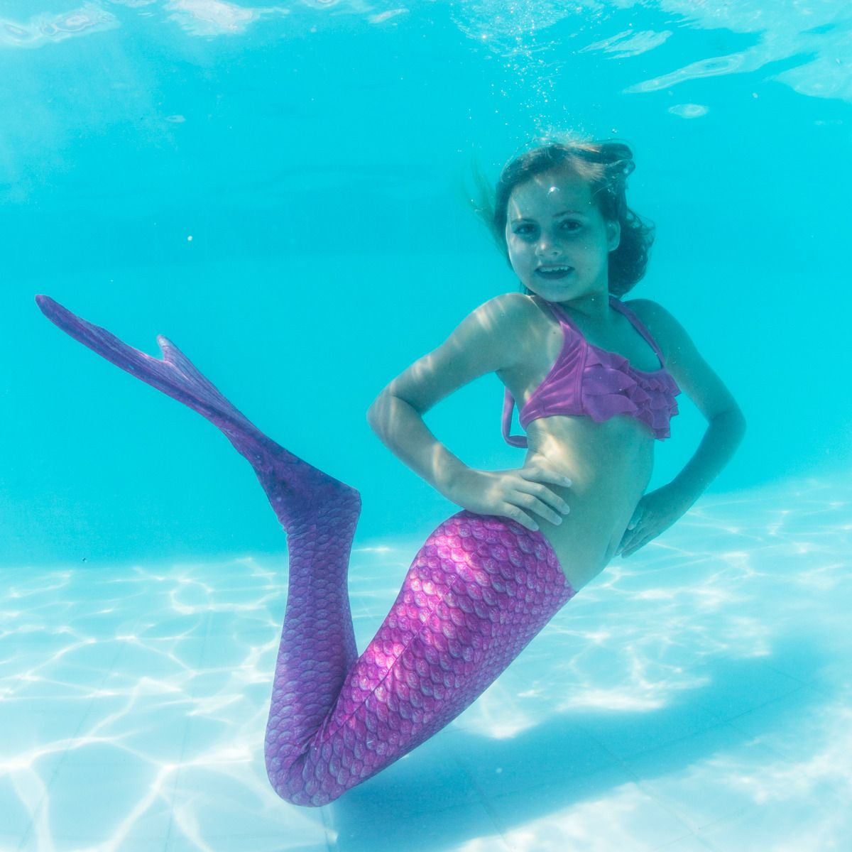 Swimmable Mermaid Tails: Pink Mermaid Tail For Kids & Adults