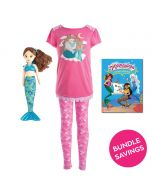 Mermaid Pajama & Zoey Doll Gift Set