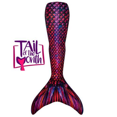 Fire Dragon Mermaid Tail