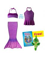 Toddler Mermaidens Bundle: Asian Magenta