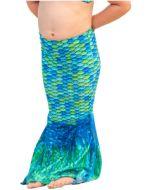 Aussie Green Toddler Mermaid Tail