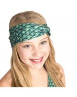Celtic Green Headwrap