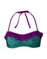 Original Celtic Green Bandeau Bikini Top