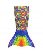 Serena's Rainbow Reef Toddler Mermaid Tail