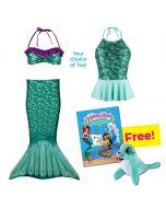 Toddler Mermaidens Bundle: Celtic Green