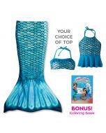 Toddler Mermaidens Bundle: Tidal Teal