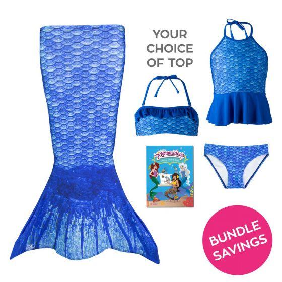 Toddler Mermaidens Bundle: Arctic Blue