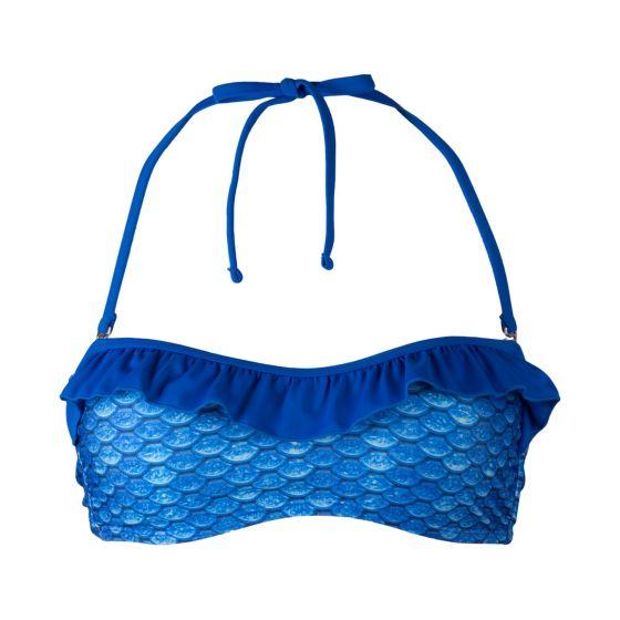Arctic Blue Bandeau Bikini Top