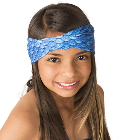 Arctic Blue Headwrap