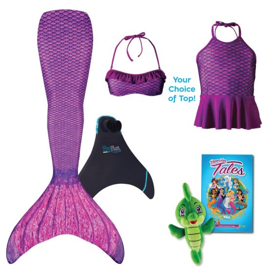 Mermaidens Bundle: Asian Magenta