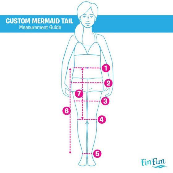 Mermaidens Custom Mermaid Tail