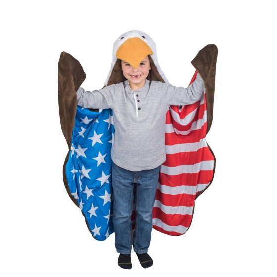 wearable eagle blanket