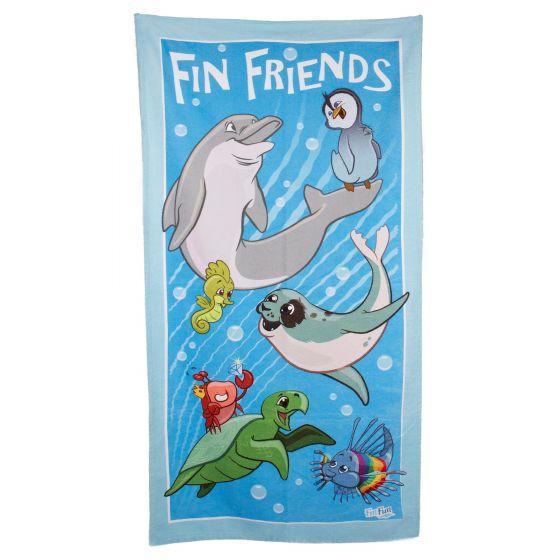 FinFriends Beach Towel