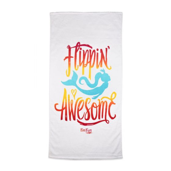 Flippin Awesome Beach Towel
