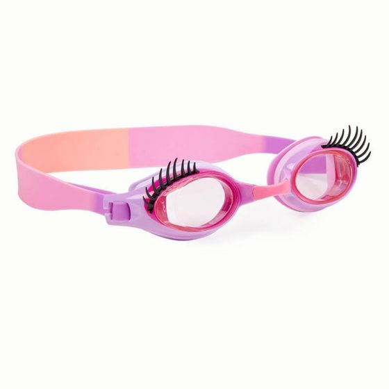 Glam Lash Swim Goggles: Beauty Parlor Pink