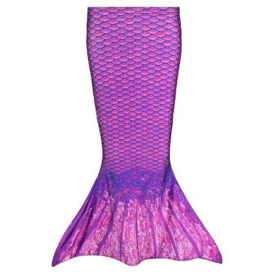 Asian Magenta Toddler Mermaid Tail
