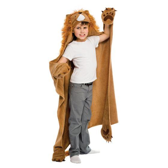 wearable lion blanket