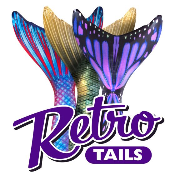 Retro Tails – Custom Reprint Mermaid Tails