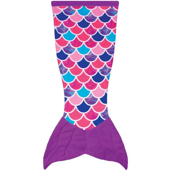 Cuddle Tails Mermaid Tail Blanket in Sea Orchid