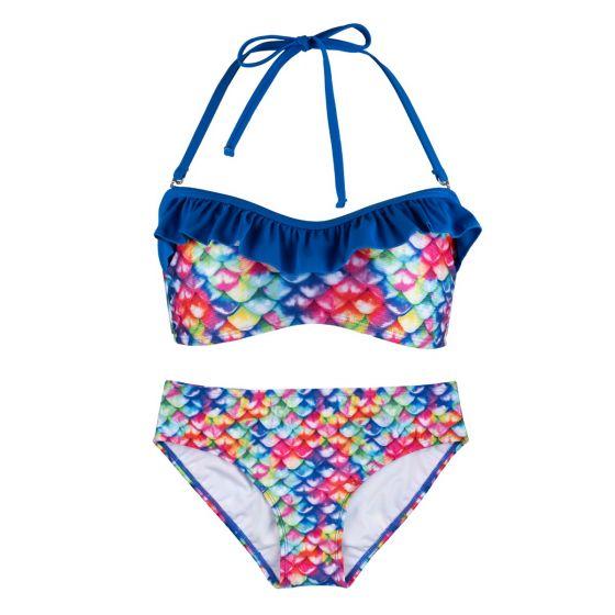New Rainbow Reef Bandeau Bikini Set
