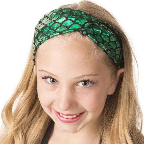 Ariel Green Headwrap
