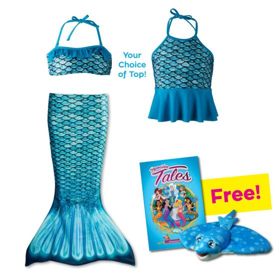 Toddler Mermaidens Bundle: Tidal Teal