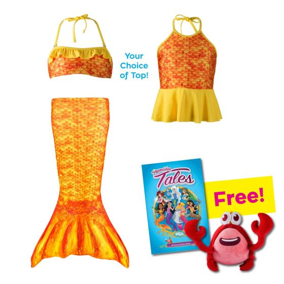 Toddler Mermaidens Bundle: Tropical Sunrise
