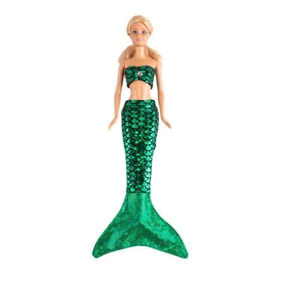 Ariel Green Small Doll Tail and Top