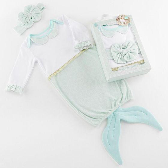 Simply Enchanted Mermaid Layette Set