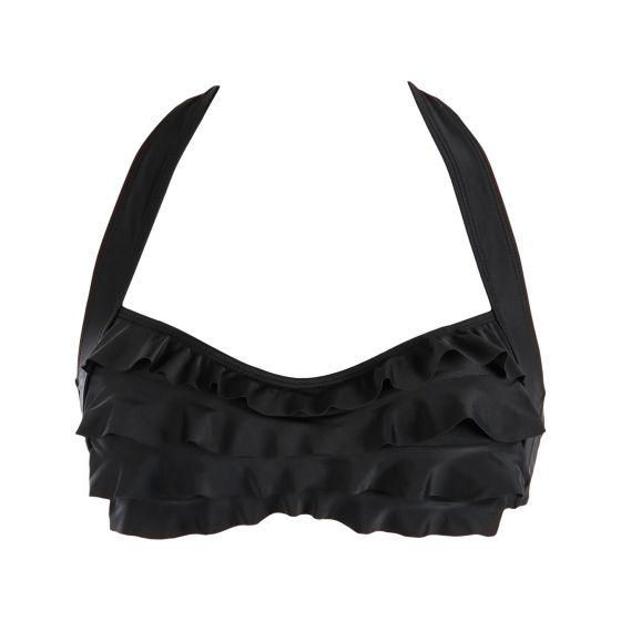 Black Sea Wave Bikini Top