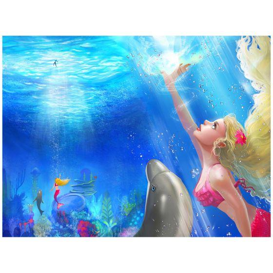 """Mermaidens Poster """"Waverlee's Rescue"""""""