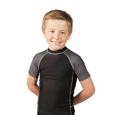 Black Swim Shirt