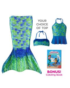 Toddler Mermaidens Bundle: Aussie Green