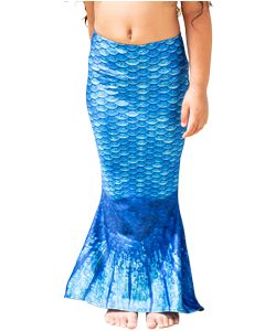 Arctic Blue Toddler Mermaid Tail