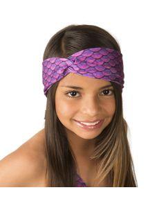 Asian Magenta Headwrap
