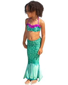 Celtic Green Toddler Tail & Bandeau Set