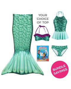 Toddler Mermaidens Bundle: Celtic Green