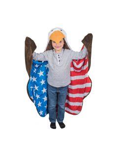 wearable eagle blanket