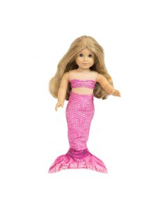 Original Malibu Pink Doll Tail and Top - 18 inch