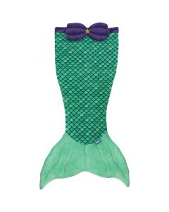 Mermaid Tail Blanket in Bikini Beach
