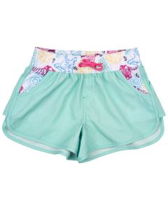 Girls' Swim Shorts in Mint