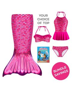 Toddler Mermaidens Bundle: Malibu Pink